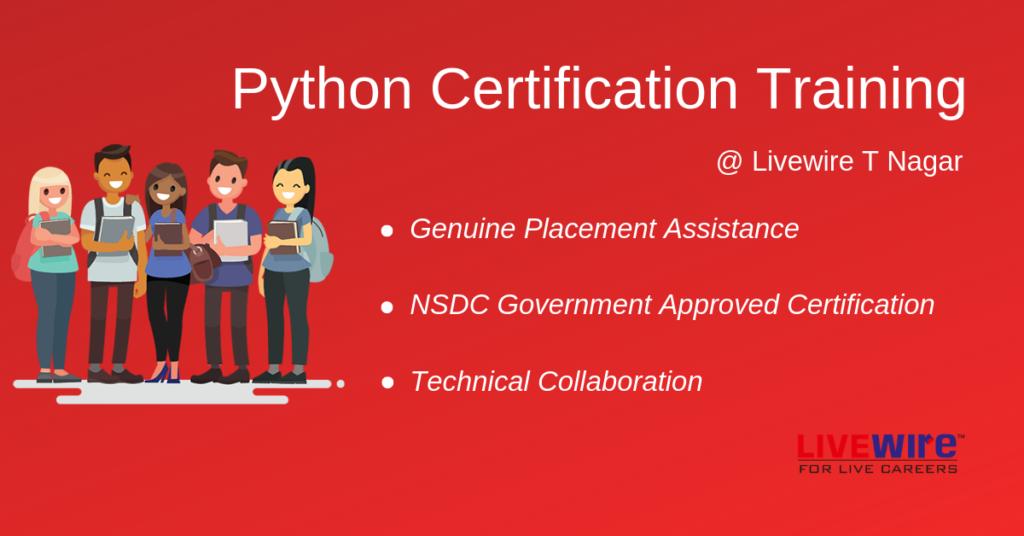 Python Certification Training in Chennai